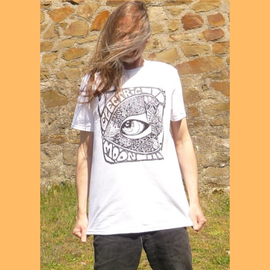 ELECTRIC MOON - t-shirt 2019 weiß