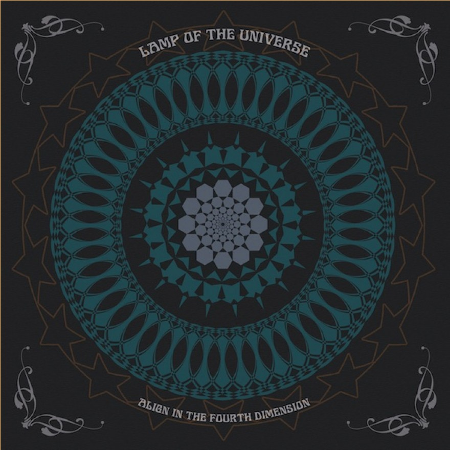 LAMP OF THE UNIVERSE - align in the fourth dimension LP türkis