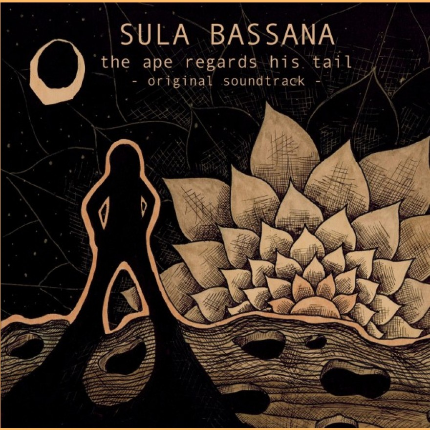 SULA BASSANA - the ape regards his tail - original soundtrack 2-LP klares vinyl