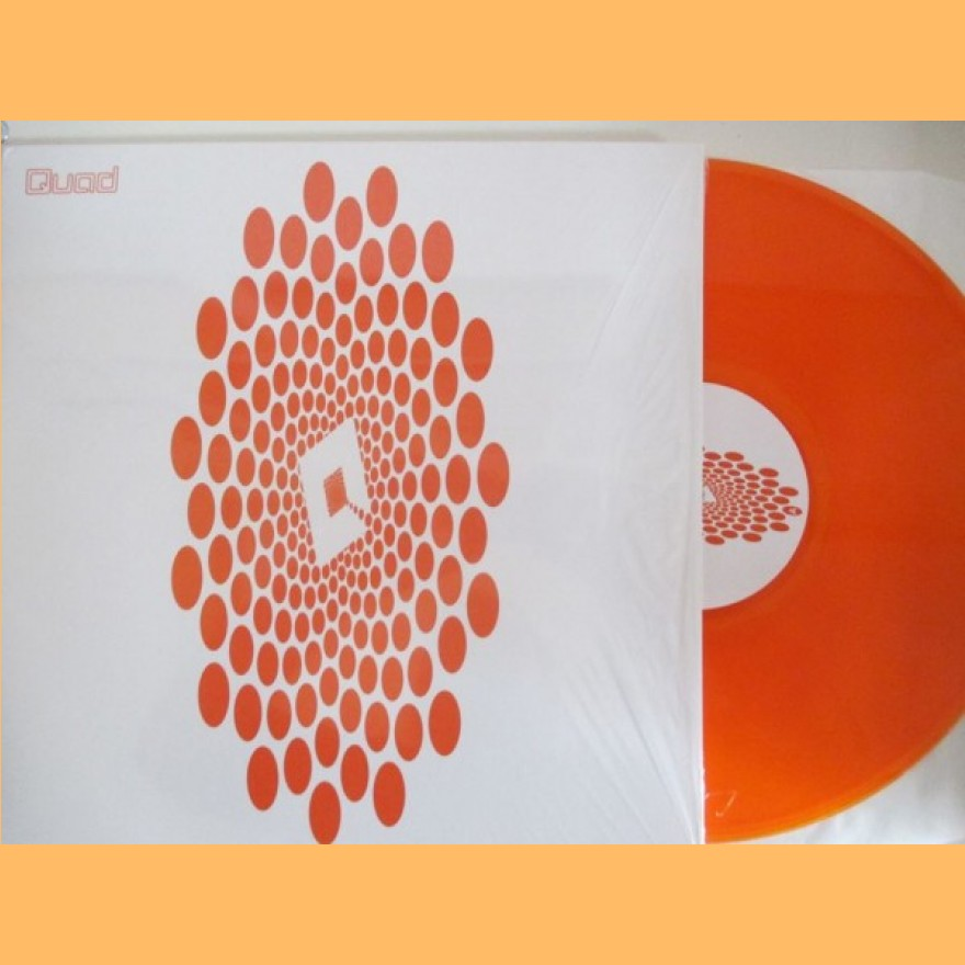 QUAD - s/t LP orange