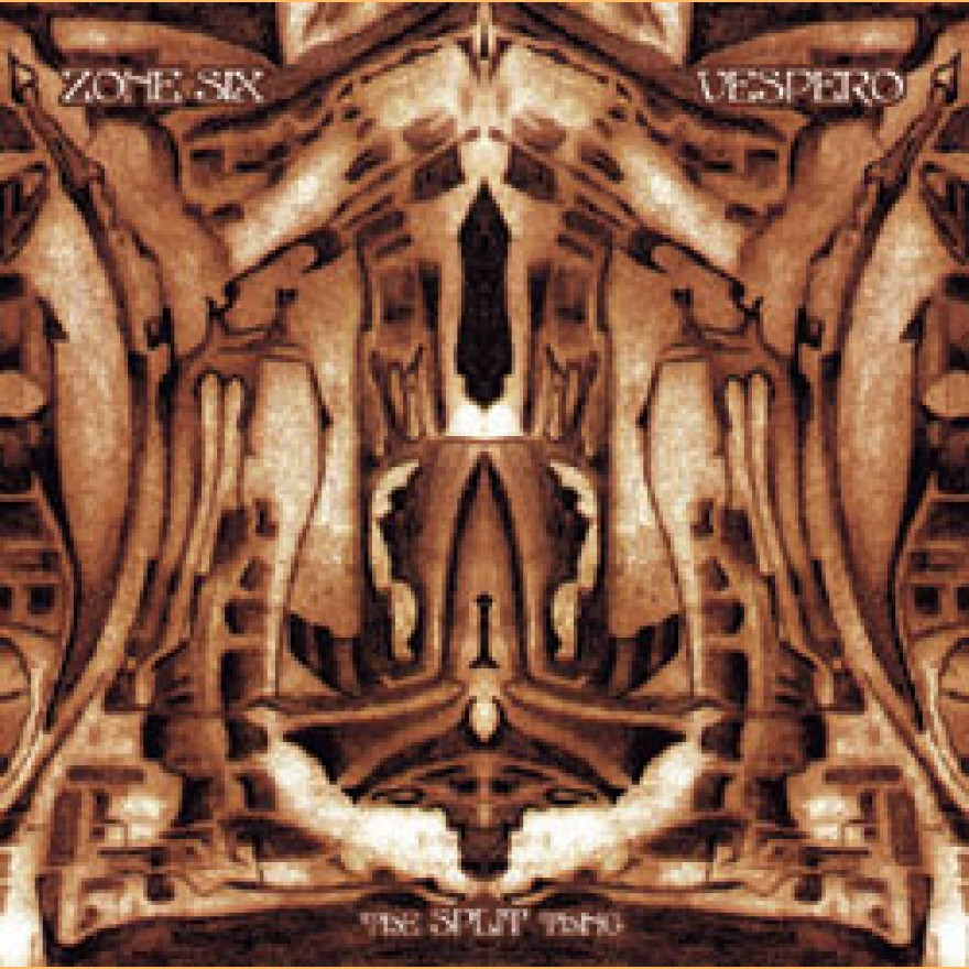 ZONE SIX / VESPERO - the split thing CD