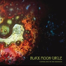 BLACK MOON CIRCLE - flowing into the third dimension LP colour