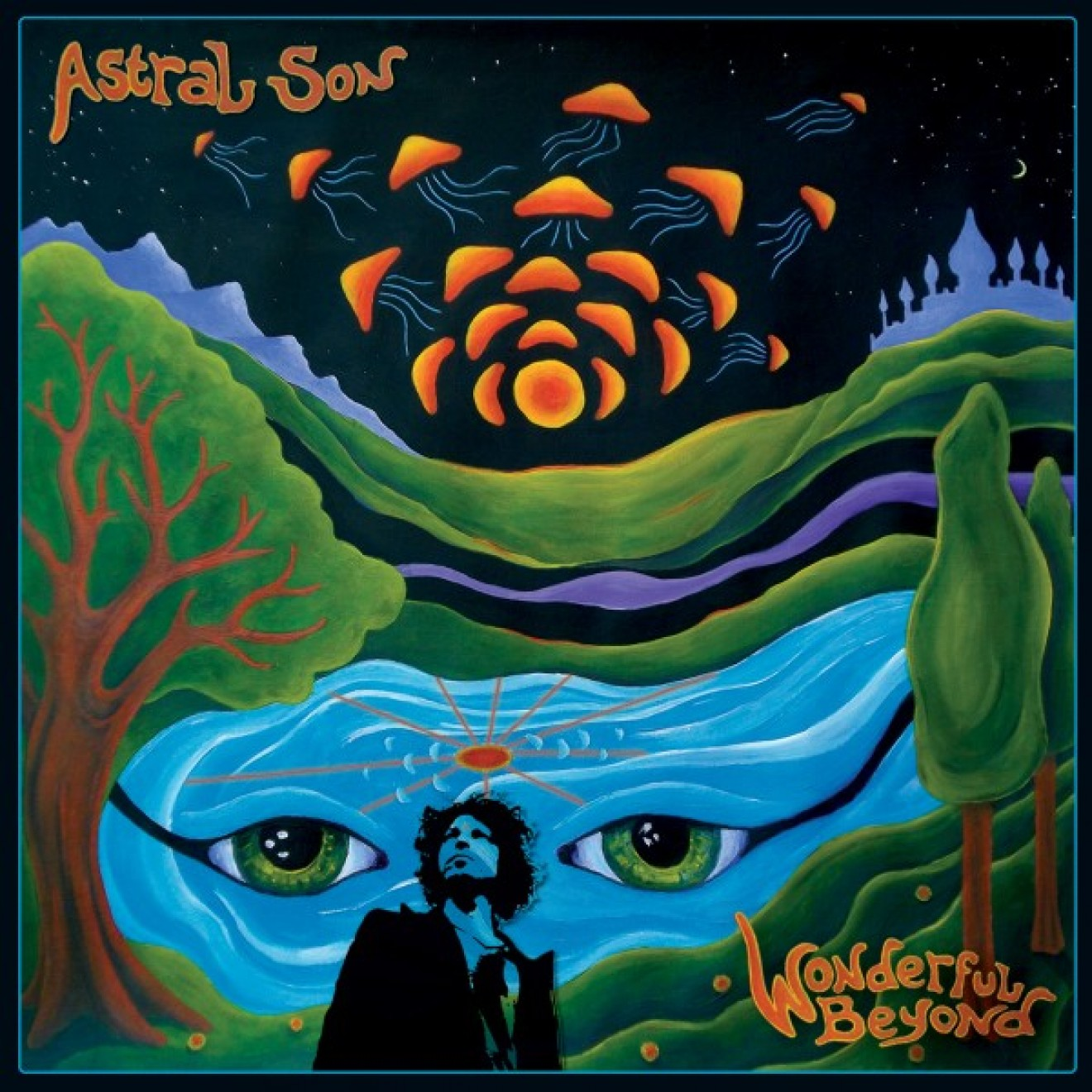 ASTRAL SON - wonderful beyond LP klar/blau