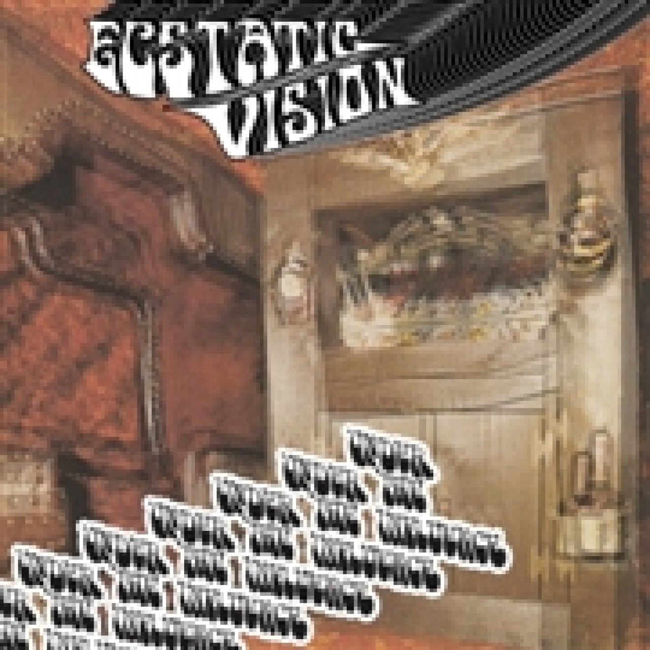ECSTATIC VISION - under the influence LP splatter