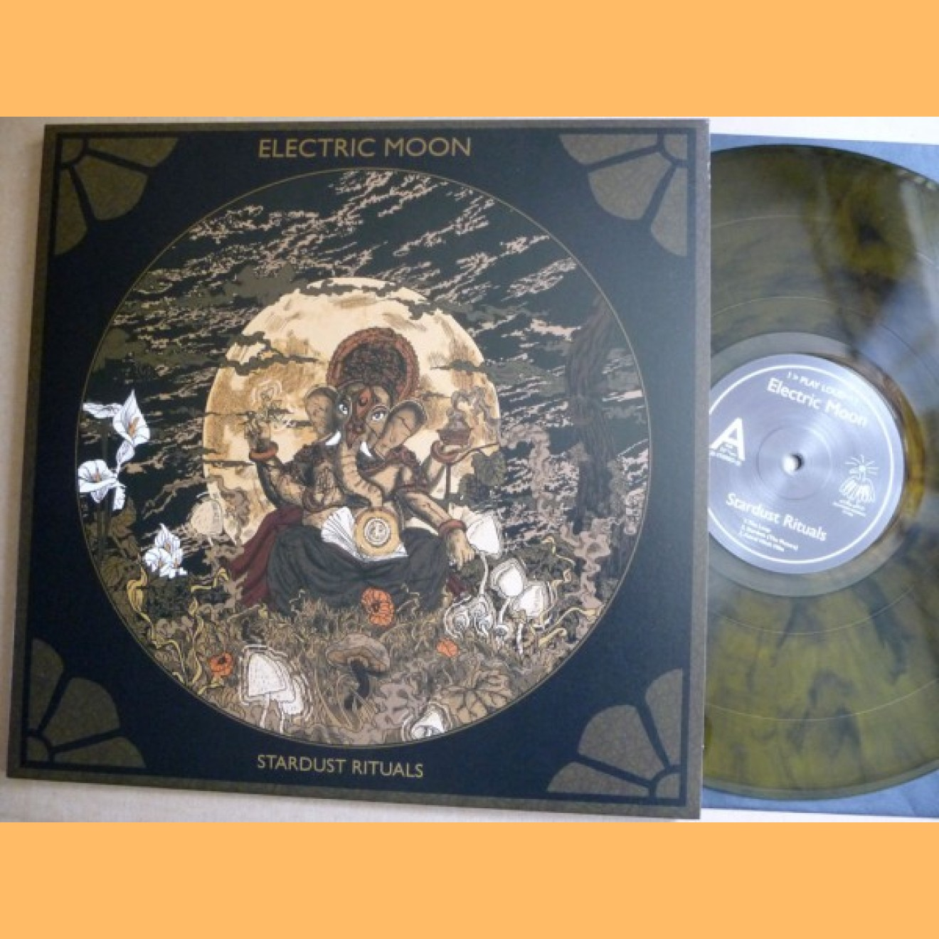 ELECTRIC MOON - stardust rituals LP marmor