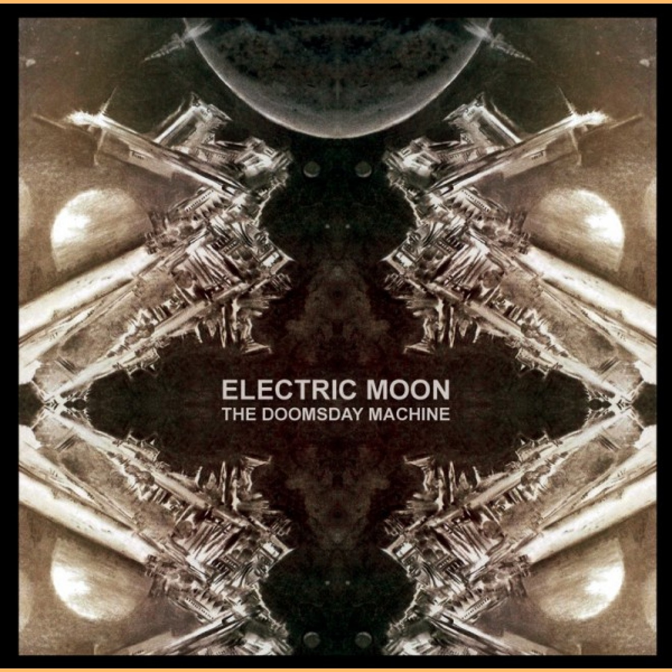 ELECTRIC MOON - the doomsday machine 2-LP gelb