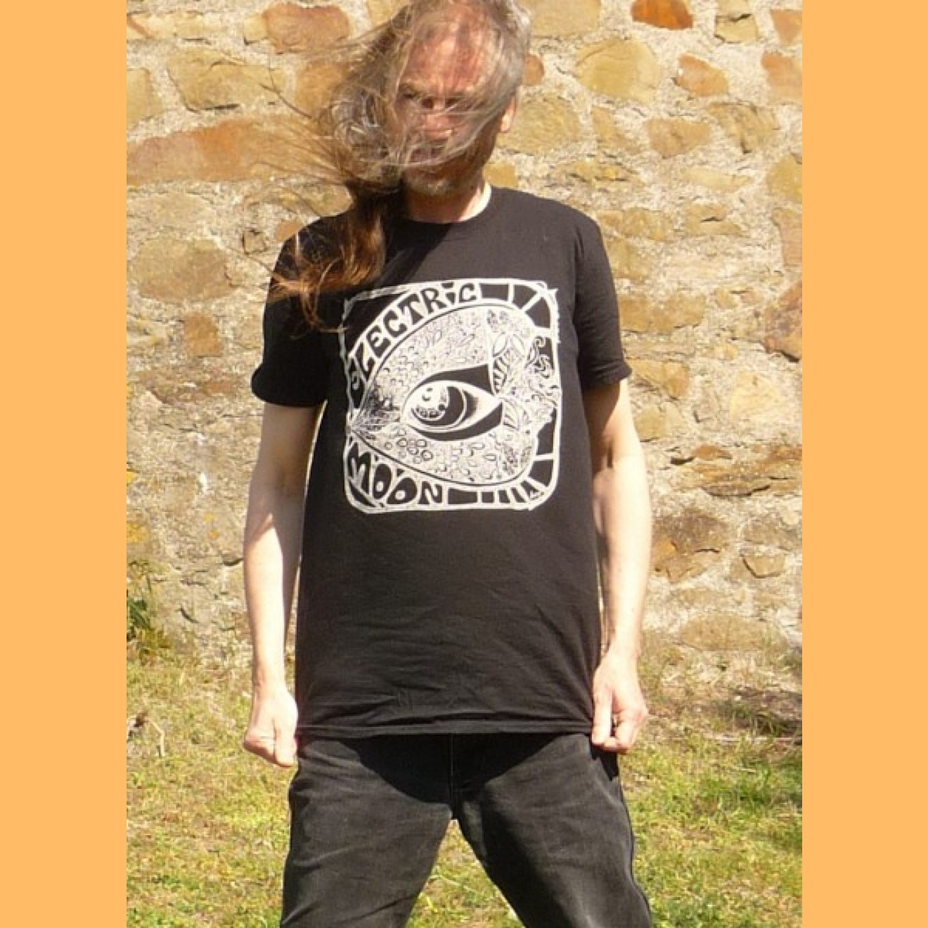 ELECTRIC MOON - t-shirt 2019 schwarz