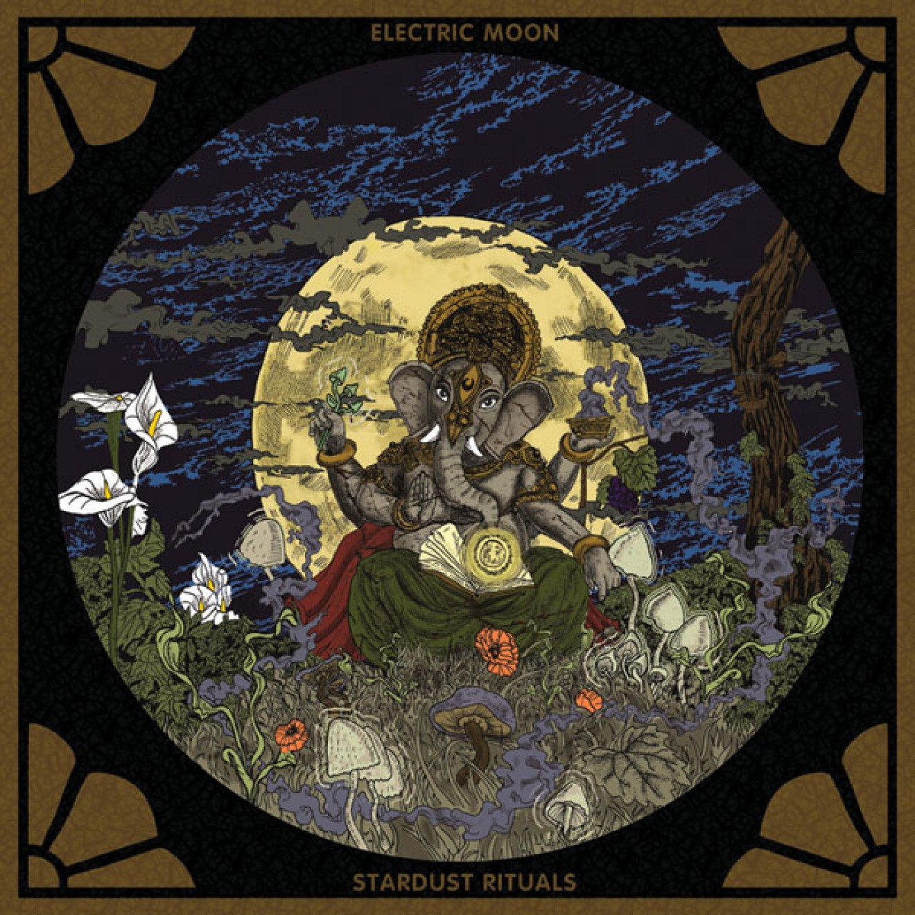 ELECTRIC MOON - stardust rituals CD
