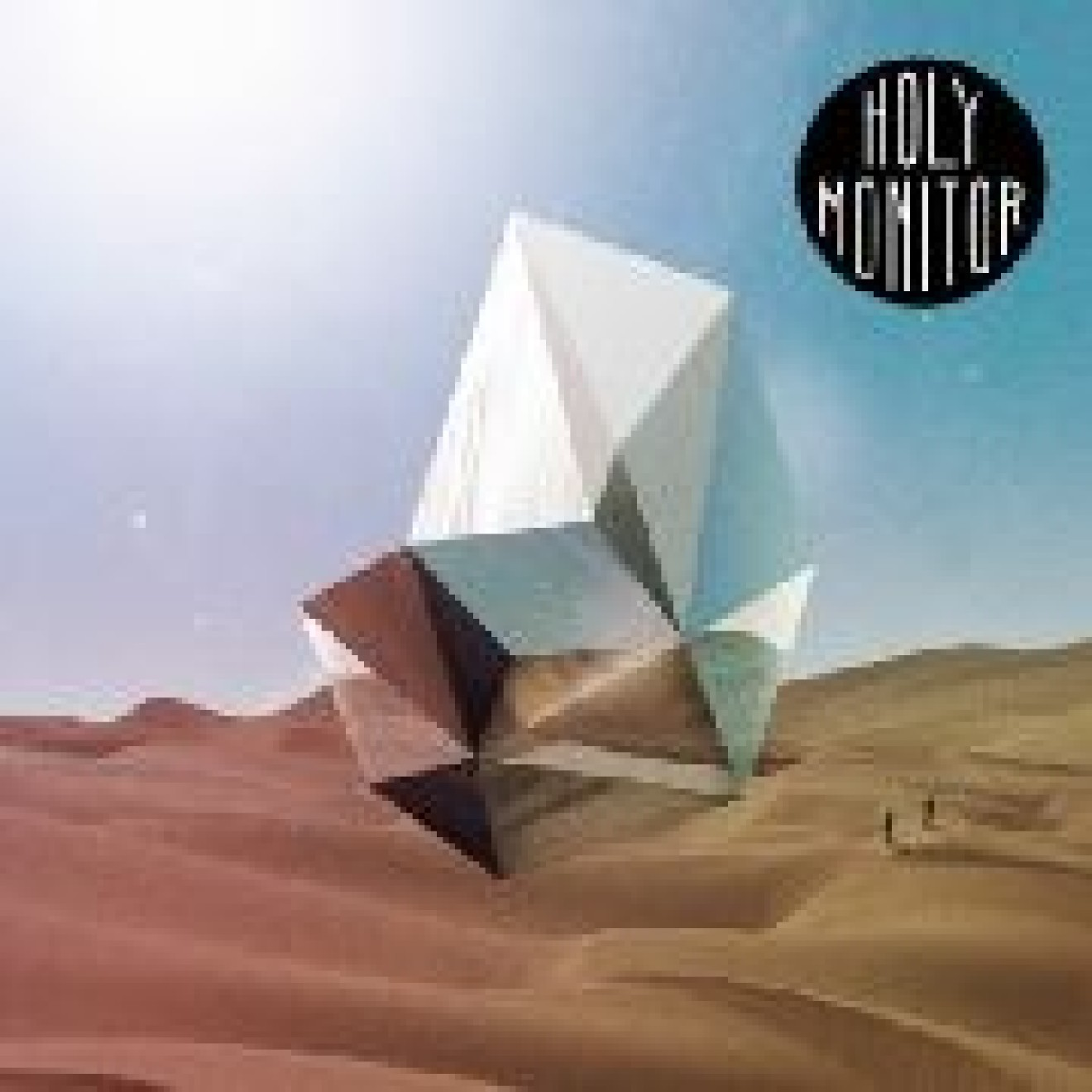 HOLY MONITOR - s/t LP marmoriert