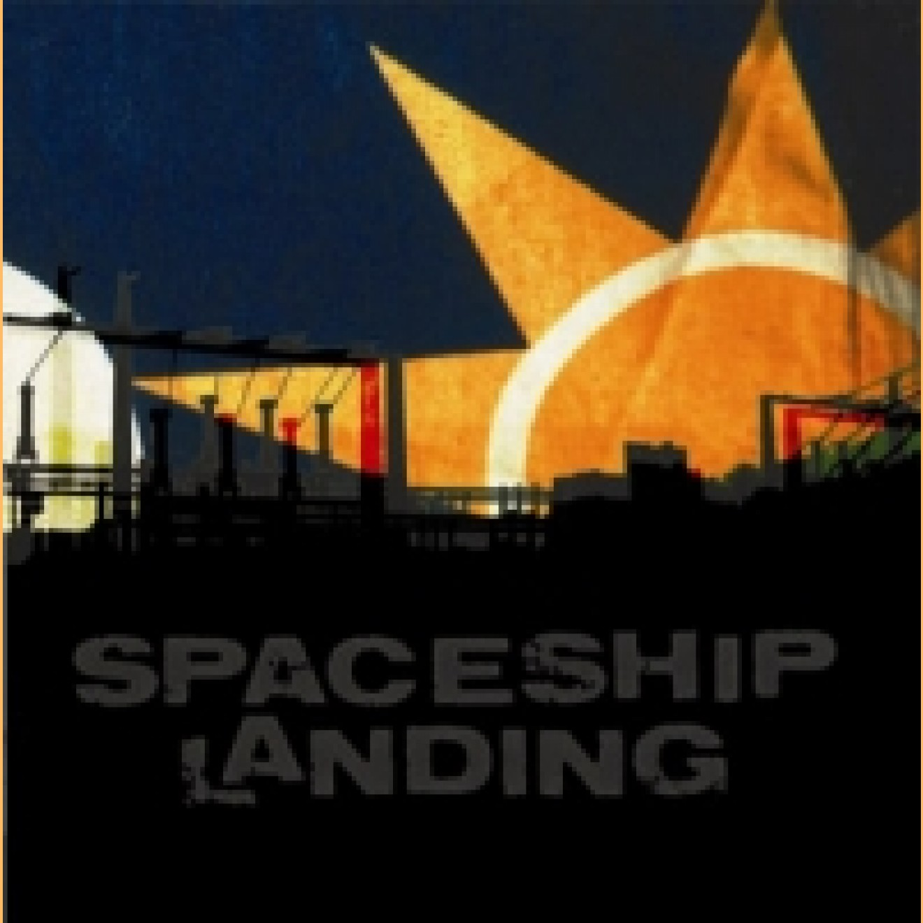 SPACESHIP LANDING - s/t  2-LP black
